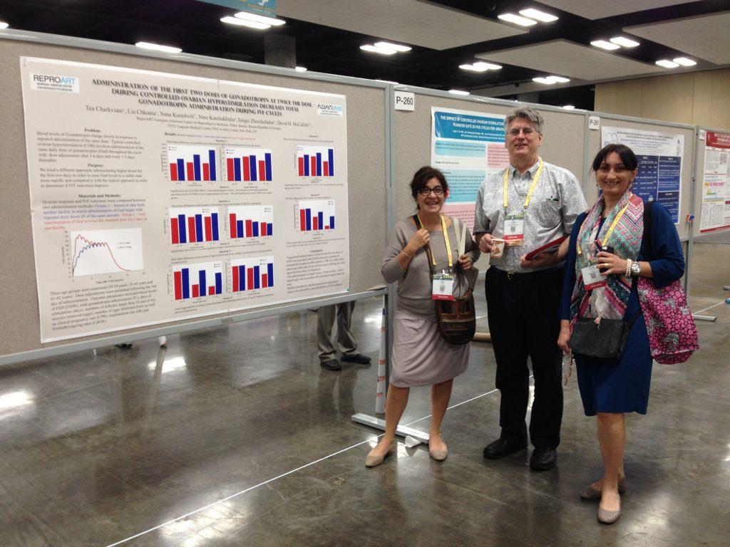 ReproART Clinic Presented A Paper at ASRM 2014 Honolulu, HI (USA)