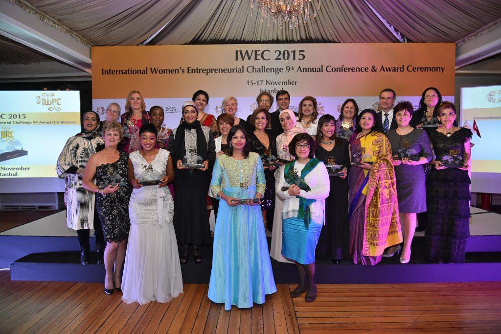 Lika Chkonia is the 2015 IWEC Awardee