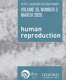 "REPROART CLINIC PAPER IN THE SCIENTIFIC JOURNAL ""HUMAN REPRODUCTION"""